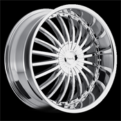 PINNACLE-P38 SILO CHROME 22X9.5 6X135/6x5.5 +30